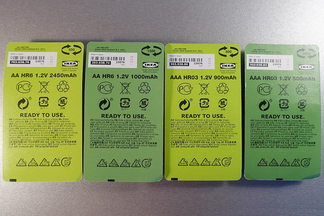 Все аккумуляторы изготовлены в Японии.