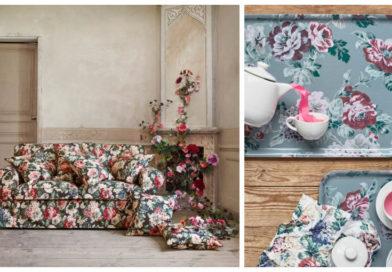 Утопающая в цветах, осенняя коллекция мебели и аксессуаров ИКЕА