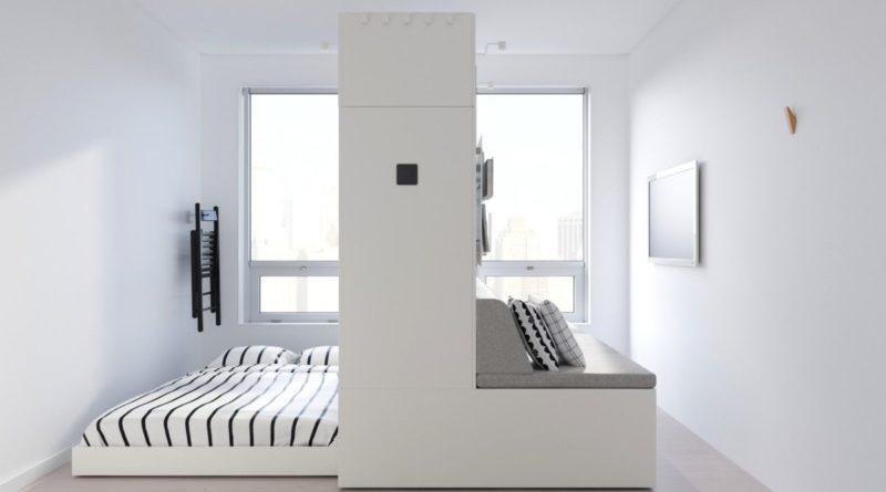Роботизированная мебель IKEA для очень маленьких квартир