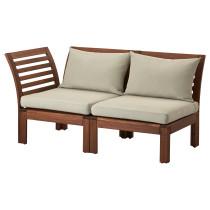 2-местный диван, садовый ЭПЛАРО / ХОЛЛО коричневый артикуль № 590.968.83 в наличии. Online каталог IKEA Минск. Недорогая доставка и монтаж.
