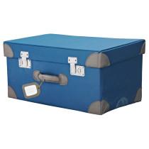 Чемодан для игрушек ПАЙССЛИНГАР синий артикуль № 302.157.68 в наличии. Интернет магазин IKEA Беларусь. Быстрая доставка и соборка.