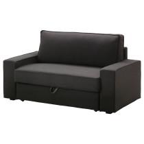 Диван-кровать 2-местная ВИЛАСУНД темно-серый артикуль № 399.072.18 в наличии. Online магазин IKEA РБ. Недорогая доставка и соборка.