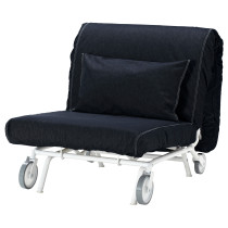Кресло-кровать ИКЕА/ПС ЛЁВОС темно-синий артикуль № 798.743.86 в наличии. Интернет магазин IKEA Беларусь. Недорогая доставка и монтаж.