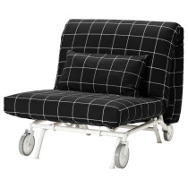 Кресло-кровать ИКЕА/ПС МУРБО черный артикуль № 998.744.46 в наличии. Онлайн сайт IKEA Беларусь. Быстрая доставка и соборка.