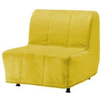 Кресло-кровать ЛИКСЕЛЕ ЛЁВОС желтый артикуль № 898.601.38 в наличии. Online магазин ИКЕА РБ. Недорогая доставка и монтаж.