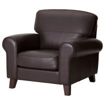 Кресло ЮСТАД темно-коричневый артикуль № 501.932.56 в наличии. Online каталог IKEA Минск. Быстрая доставка и монтаж.