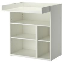 Пеленальный, письменный стол СТУВА белый артикуль № 202.253.34 в наличии. Онлайн каталог IKEA Республика Беларусь. Быстрая доставка и установка.