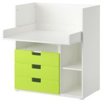 Стол с 3 ящиками СТУВА зеленый артикуль № 690.473.64 в наличии. Онлайн каталог IKEA Минск. Быстрая доставка и соборка.