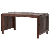 Стол с откидными полами, садовый ЭПЛАРО коричневый артикуль № 402.085.31 в наличии. Online каталог IKEA РБ. Быстрая доставка и монтаж.