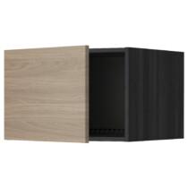 Верхний шкаф на холодильник, морозильник МЕТОД черный артикуль № 299.263.59 в наличии. Интернет магазин IKEA Минск. Недорогая доставка и установка.