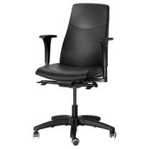 Вращающееся легкое кресло ВОЛЬМАР черный артикуль № 990.317.38 в наличии. Онлайн магазин IKEA Беларусь. Быстрая доставка и монтаж.