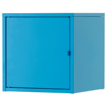 Шкаф ЛИКСГУЛЬТ синий артикуль № 103.286.67 в наличии. Онлайн сайт IKEA Минск. Недорогая доставка и соборка.