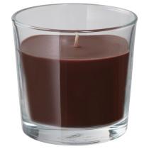 Ароматическая свеча в стакане СИНЛИГ коричневый артикуль № 903.462.95 в наличии. Интернет сайт IKEA Минск. Недорогая доставка и соборка.