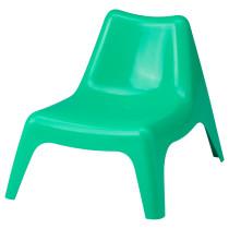 Детское садовое кресло БУНСЁ зеленый артикуль № 503.380.37 в наличии. Онлайн сайт ИКЕА Беларусь. Быстрая доставка и установка.