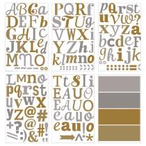 Декоративные наклейки КЛЭТТА золотистый/серебристый артикуль № 503.718.71 в наличии. Онлайн каталог IKEA Беларусь. Быстрая доставка и монтаж.