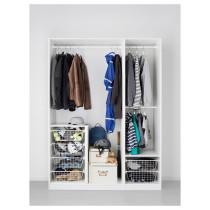 Гардероб ПАКС белый артикуль № 192.525.02 в наличии. Онлайн сайт IKEA Республика Беларусь. Недорогая доставка и соборка.