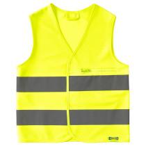 Светоотражающий жилет БЕСКЮДДА желтый артикуль № 503.667.23 в наличии. Интернет каталог IKEA РБ. Быстрая доставка и установка.