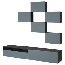 Шкаф для ТВ, комбинация БЕСТО артикуль № 392.516.72 в наличии. Интернет сайт IKEA Беларусь. Быстрая доставка и установка.