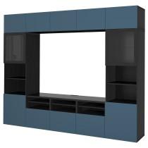 Шкаф для ТВ, комбинированный, стекляные дверцы БЕСТО артикуль № 292.502.39 в наличии. Интернет магазин IKEA Минск. Быстрая доставка и соборка.