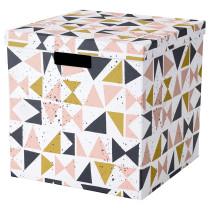 Коробка с крышкой ТЬЕНА черный артикуль № 203.982.16 в наличии. Онлайн магазин ИКЕА Республика Беларусь. Быстрая доставка и установка.