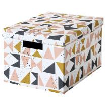 Коробка с крышкой ТЬЕНА черный артикуль № 803.982.18 в наличии. Онлайн каталог IKEA Беларусь. Быстрая доставка и монтаж.