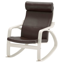 Кресло-качалка ПОЭНГ темно-коричневый артикуль № 292.816.98 в наличии. Интернет каталог IKEA Минск. Недорогая доставка и соборка.
