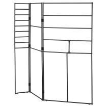 Ширма, для дома/сада СЬЕЛЬВСТЭНДИГ черный артикуль № 804.149.25 в наличии. Онлайн каталог IKEA Беларусь. Недорогая доставка и установка.