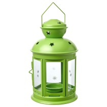 Фонарь для греющей свечи РОТЕРА светло-зеленый артикуль № 504.224.32 в наличии. Интернет магазин IKEA Минск. Быстрая доставка и установка.