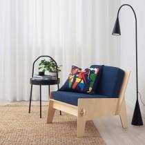 Легкое кресло с подушками ОВЕРАЛЛЬТ синий артикуль № 592.918.65 в наличии. Интернет магазин IKEA Республика Беларусь. Недорогая доставка и монтаж.